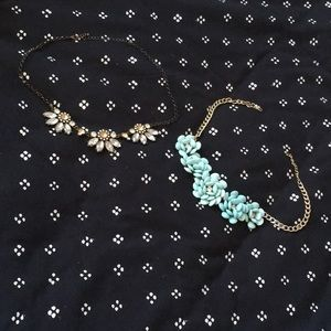 Two Bejeweled Necklaces